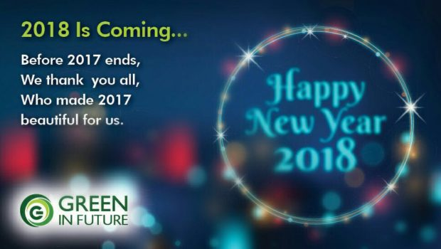 green new year wishes