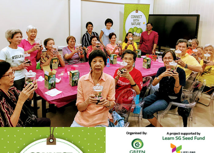 Green Workshops Connect with Nature #learnsg