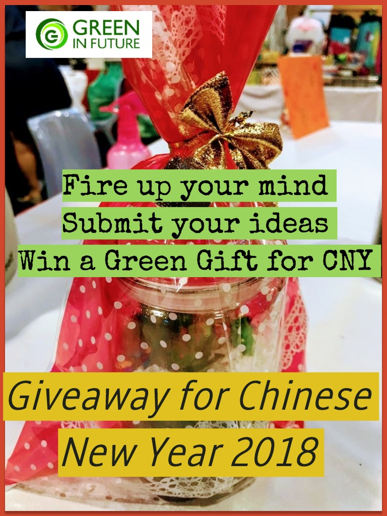 Chinese New Year Giveaway Contest - Green in Future